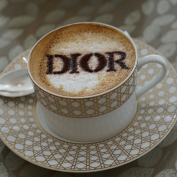 The fancy over-priced Dior latte